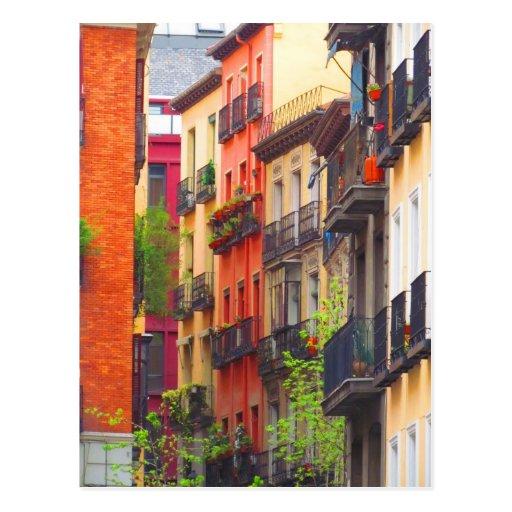 Vecindad de Madrid, España Postales