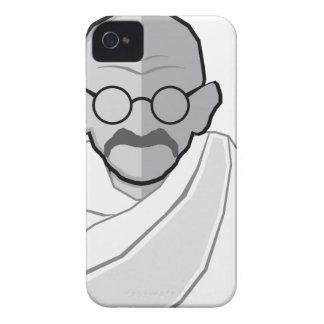 Vector de Gandhi iPhone 4 Carcasa
