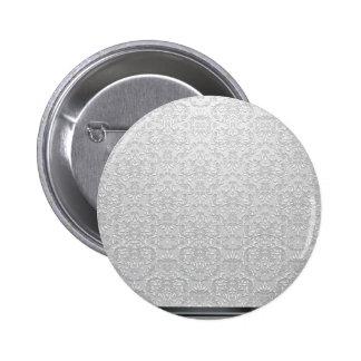 Vector gris y blanco elegante del damasco pin