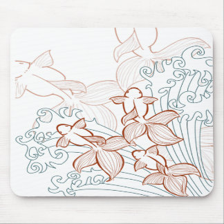 Vector Mousepad del Goldfish Tapetes De Raton