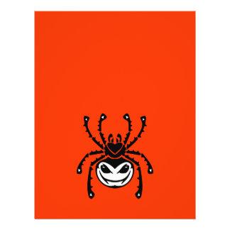 vector tribal de la ARAÑA ASUSTADIZA png_spiders_t Folleto 21,6 X 28 Cm