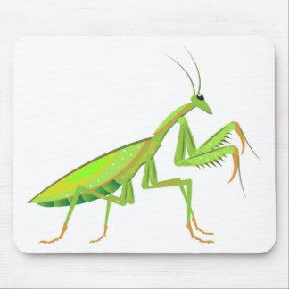 Vector verde del predicador alfombrilla de ratón