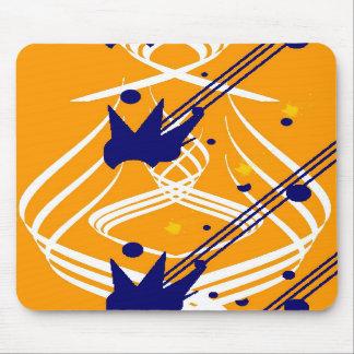 Vectores ligeros en el oro olímpico Mousepad Alfombrilla De Ratones