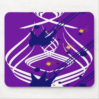 Vectores ligeros en Mousepad violeta Tapete De Raton