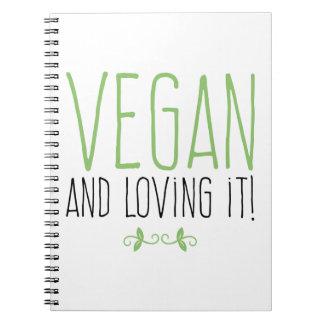 Vegan and loving it! cuaderno