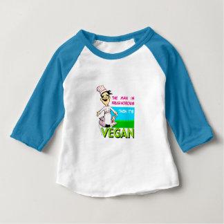 Vegano/cocinero vegetariano camiseta
