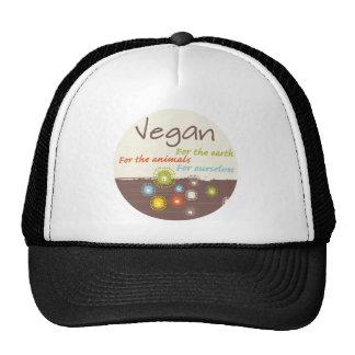 Vegano para una ropa y los regalos de la razón gorra