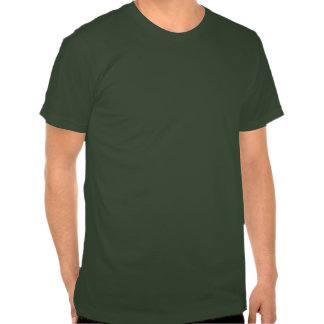 Vegano rosado y verde camiseta