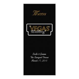 Vegas enciende la tarjeta negra del estante del me tarjetas publicitarias