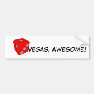¡Vegas, impresionante! Pegatina para el