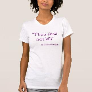 vegetariano cristiano camiseta