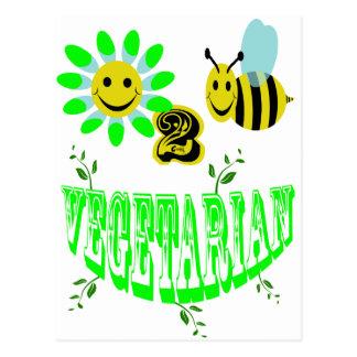 vegetariano de happy2bee postal