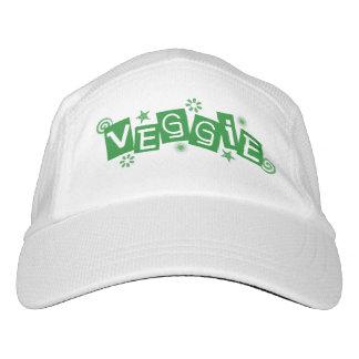 Veggie para los vegetarianos y los veganos gorra de alto rendimiento