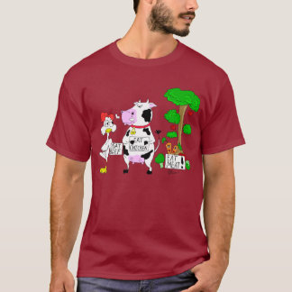 Veggies contra la camiseta del vegetarianismo