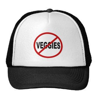 Veggies del odio Veggies/No no prohibidos la Gorros Bordados