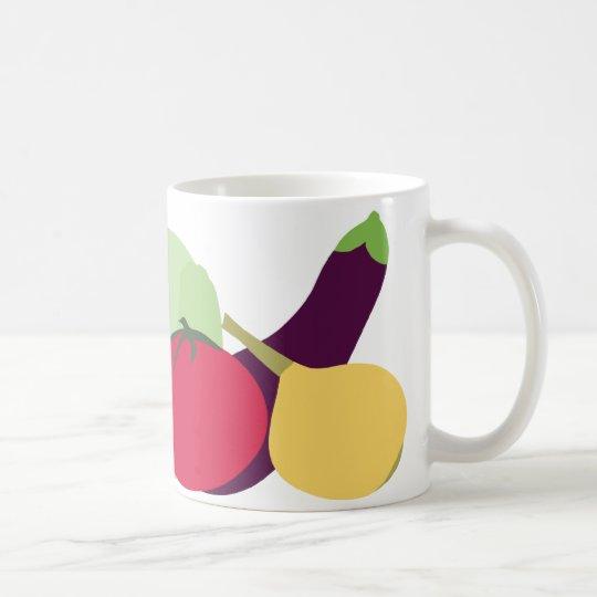 ¡Veggies! Taza De Café