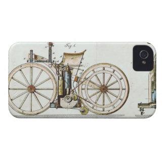 Vehículo del vintage iPhone 4 Case-Mate carcasa