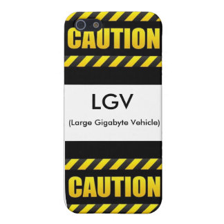 Vehículo grande del gigabyte iPhone 5 cárcasas