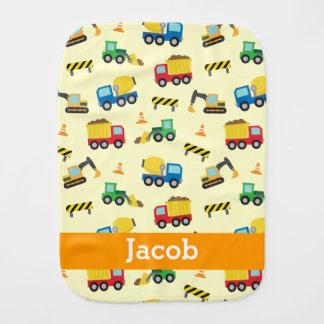 Vehículos coloridos modelo, bebés de la construcci paños para bebé
