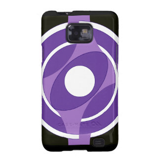 Vejiga de la diana redonda (púrpura) galaxy SII carcasa