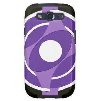 Vejiga de la diana redonda (púrpura) galaxy SIII protector