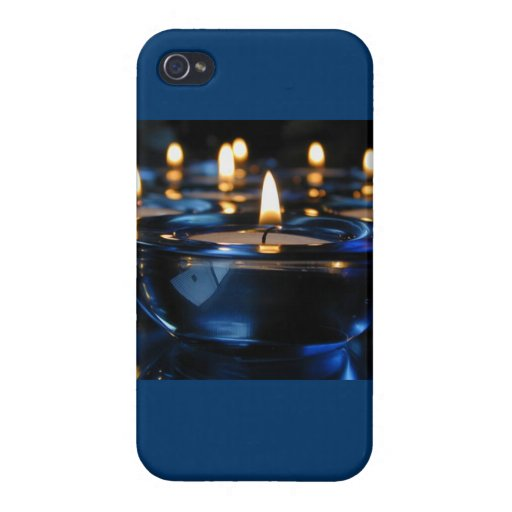 Vela azul iPhone 4 cobertura