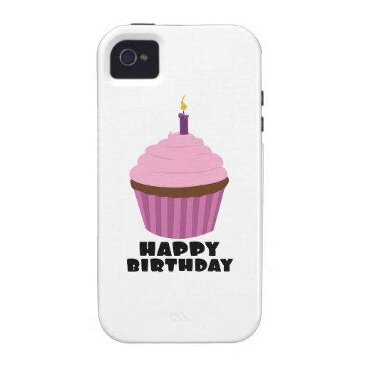 Vela del cumpleaños vibe iPhone 4 fundas