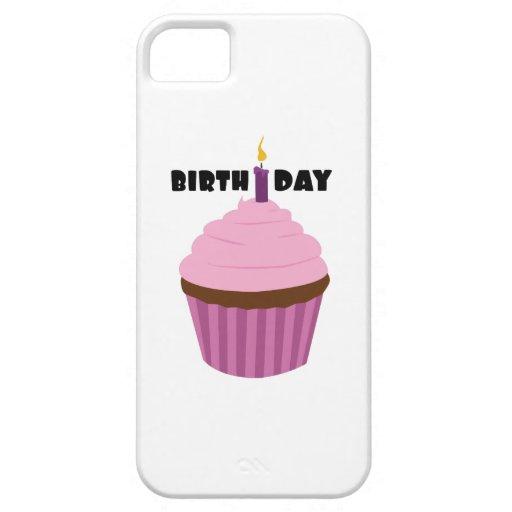 Vela del cumpleaños iPhone 5 carcasa