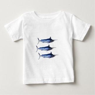 Vela lejos camiseta de bebé