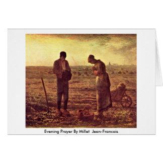 Velada de oración por el mijo (ii) Jean-Francois Tarjeta De Felicitación