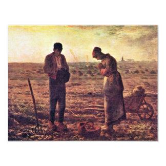 Velada de oración por el mijo (la mejor calidad) invitación 10,8 x 13,9 cm