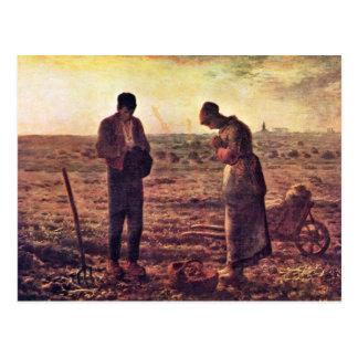 Velada de oración por el mijo (la mejor calidad) postal