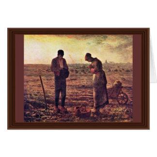 Velada de oración por el mijo (la mejor calidad) felicitación