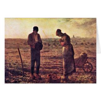 Velada de oración por el mijo (la mejor calidad) tarjeta de felicitación