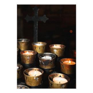 Velas de la iglesia anuncios