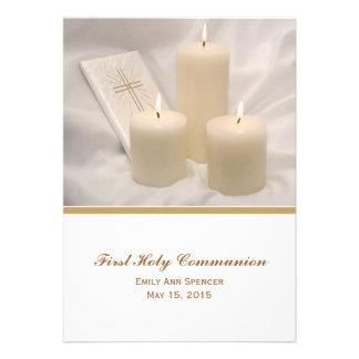 Velas y comunión santa #2 del libro de oración pri invitaciones personales