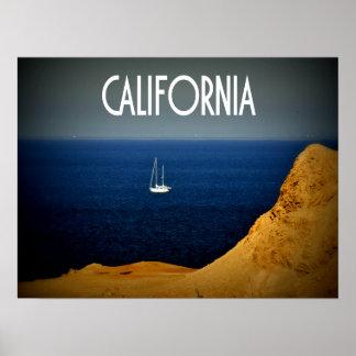 Velero de California Póster