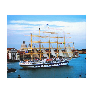 Velero de Venecia Impresión En Lienzo