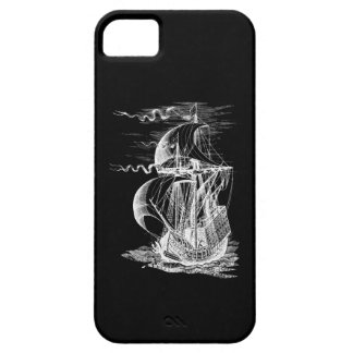 Velero del vintage funda para iPhone 5 barely there