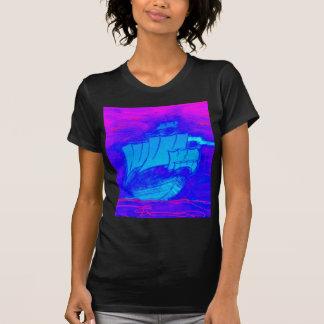 velero fluorescente 1 camiseta