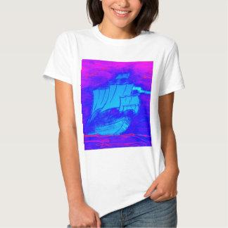 velero fluorescente 1 camisetas