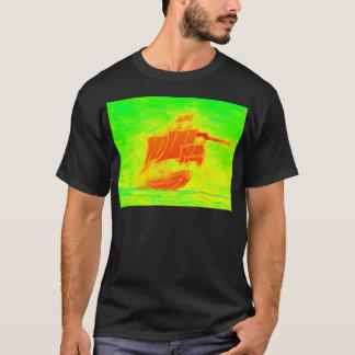 velero fluorescente camiseta