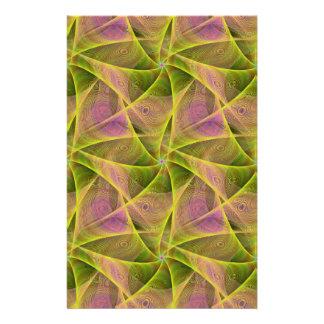 Velos del fractal folleto 14 x 21,6 cm