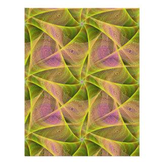 Velos del fractal folleto 21,6 x 28 cm
