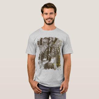 Venado de cola blanca, dólares alertas, camiseta