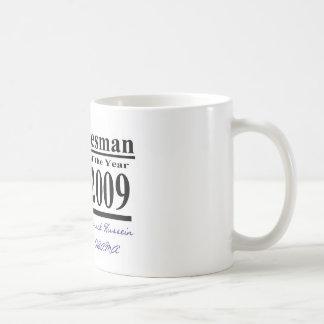 Vendedor del arma del año taza de café