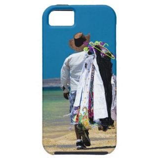 Vendedor en la playa funda para iPhone SE/5/5s