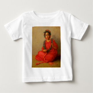 Vendedor joven hermoso de los leus en Hawaii vieja Camiseta