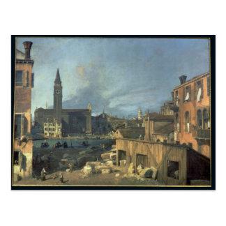 Venecia: Campo San Vidal y Santa María Carita Postal
