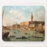 Venecia: El Molo del dux el palacio y de los vagos Tapetes De Raton